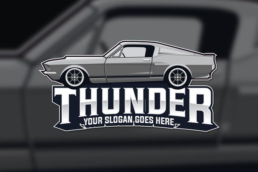 Mustang Logo Design Idea