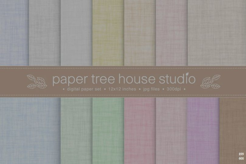 Natural Linen Style Backgrounds