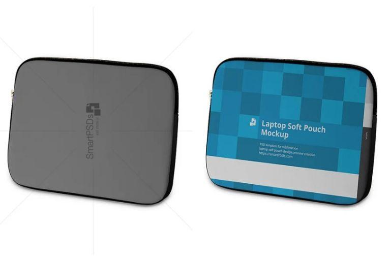 Neoprene Laptop Pouch Mockup