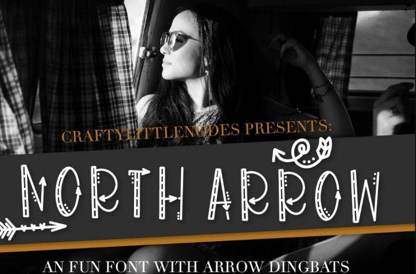 North Arrow Typeface