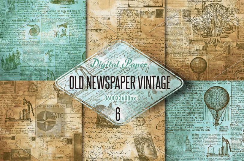 Old Vintage Digital Paper