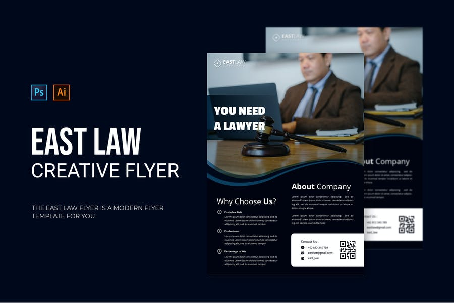 One Page Law Firm Brochure