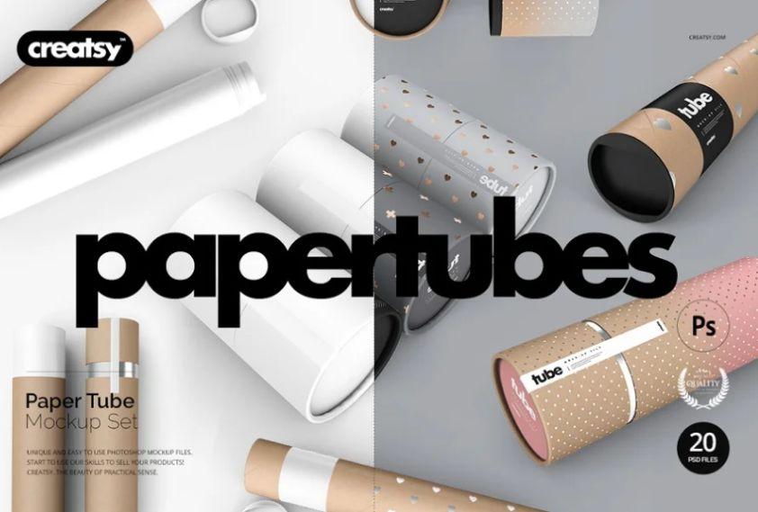 Paper Tube Branding SWet