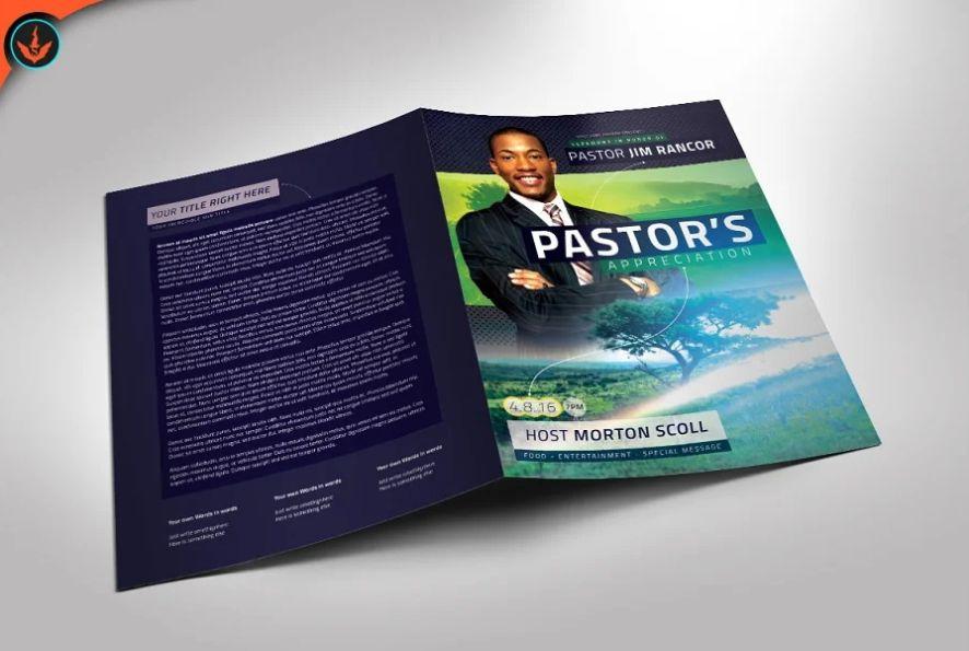 21+ Free Pastor Brochure Templates Download