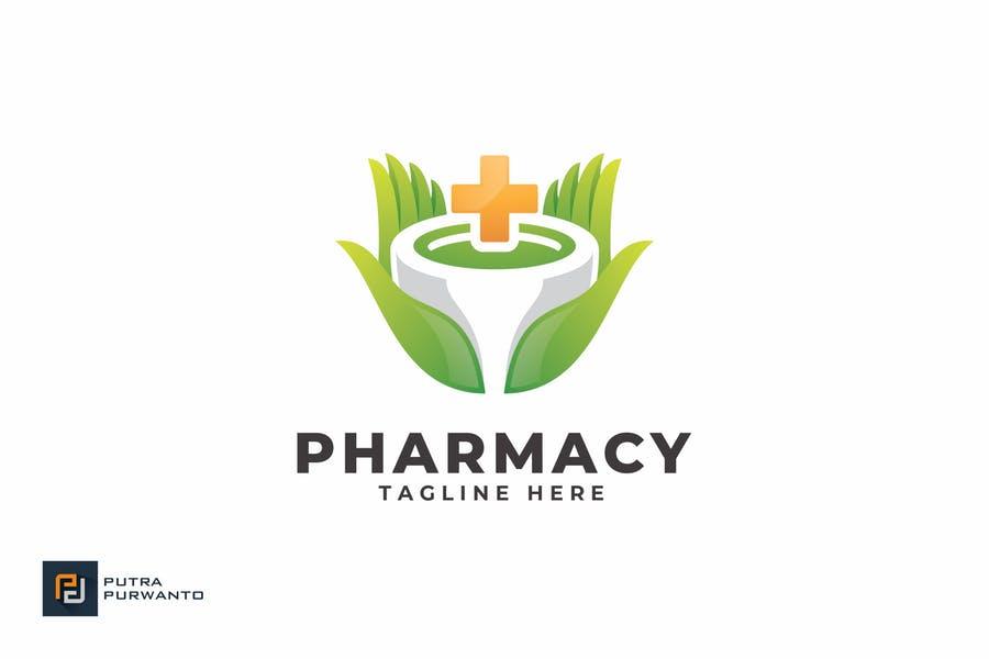 Pharmacy Hands Logotype