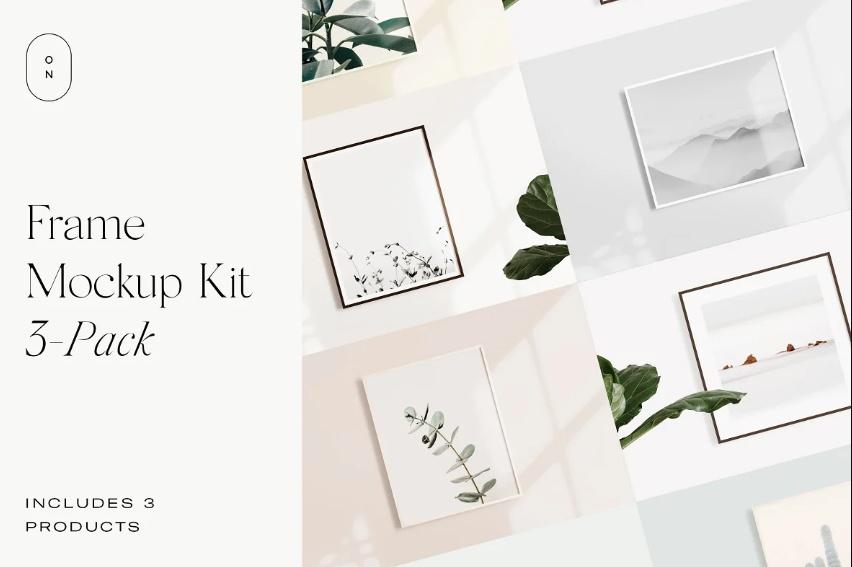 Photo Frame Mockup Creator Kit