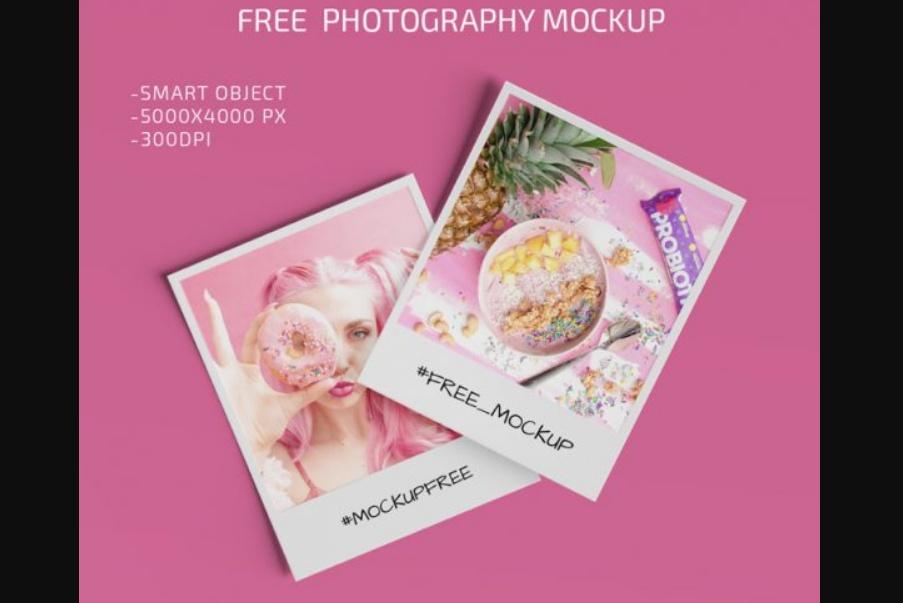 Photography Mockup PSD