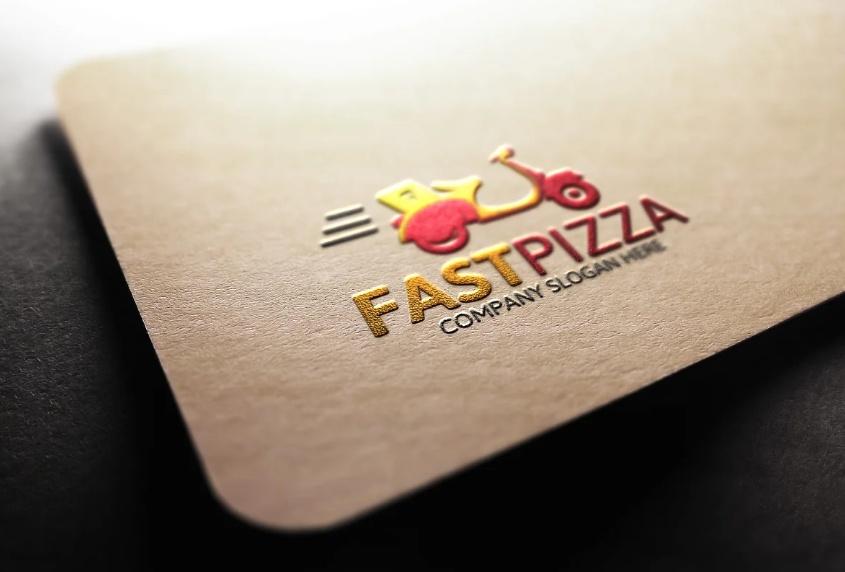 Pizza Company Logo Design Idea