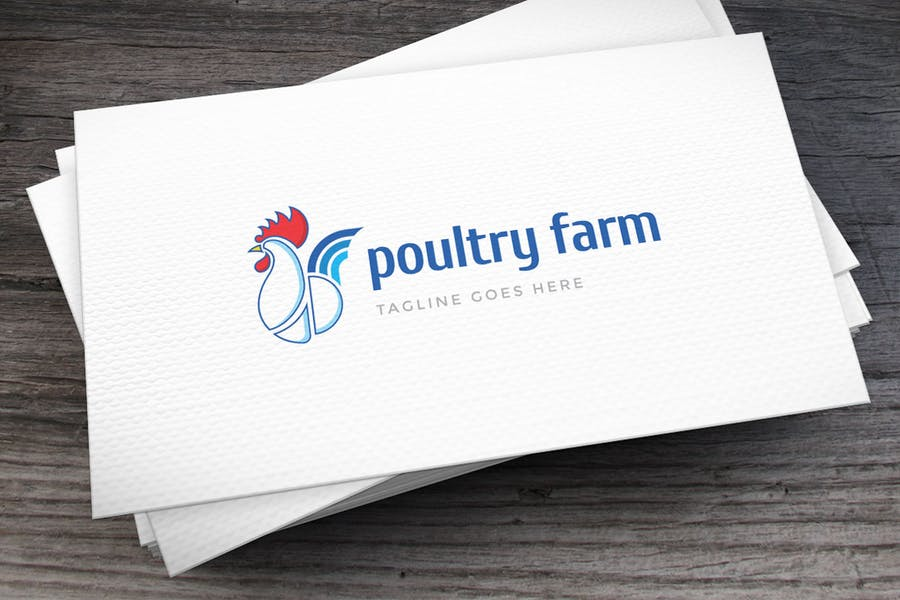 Poultry Farm Logo Design Idea