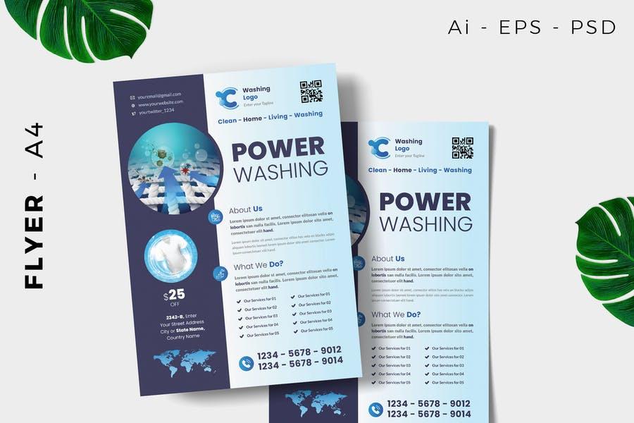 Power Washing Flyer  Designs