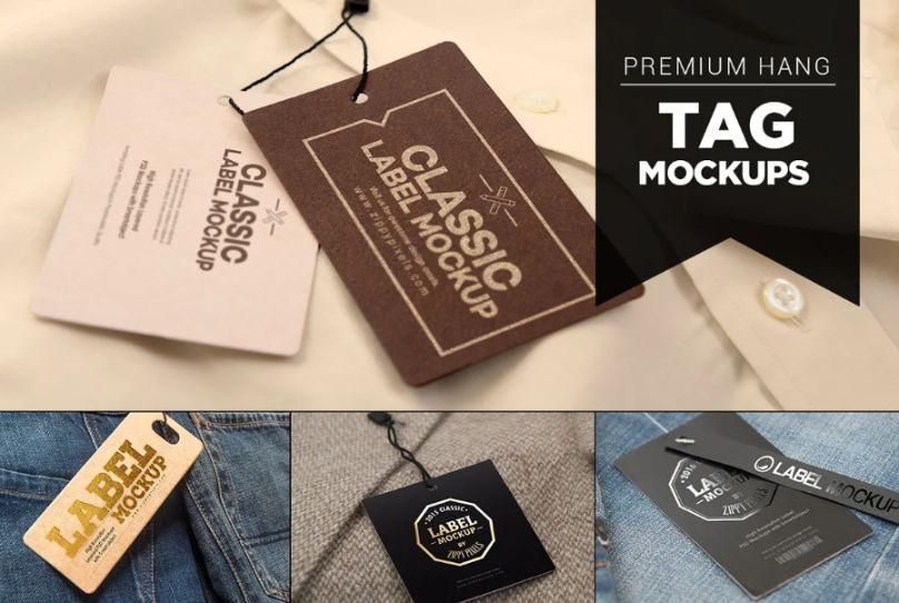 Premium Hang Tag Mockusp Bundle