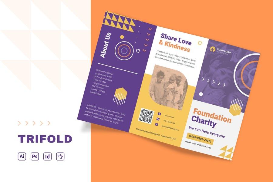 Print Ready Charity Brochure