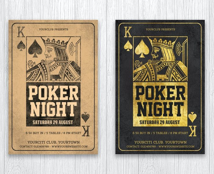 22+ Free Poker Night Flyer Templates Download