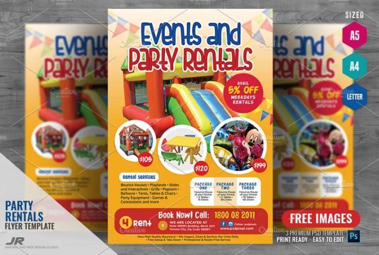 Print Ready Rentals Flyer