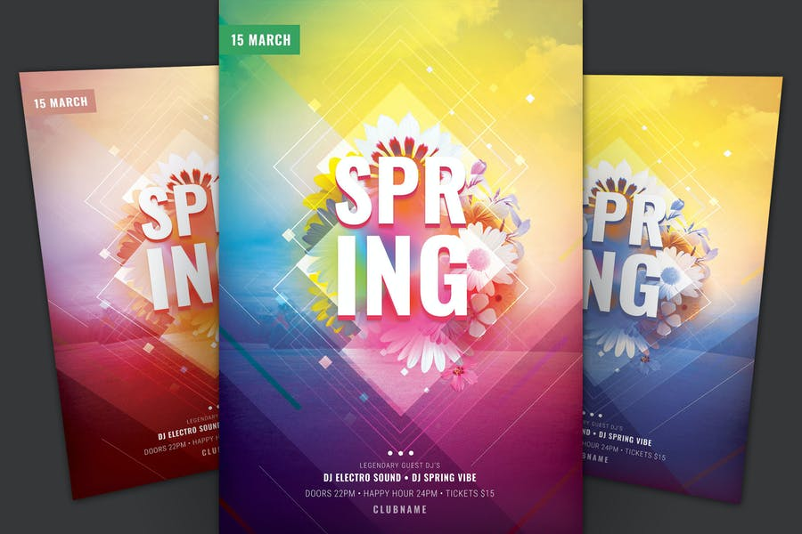 Print Ready Spring Posters