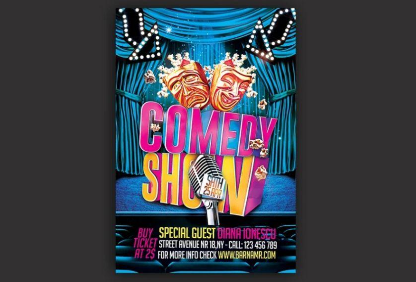 Printable Funny Show Flyer