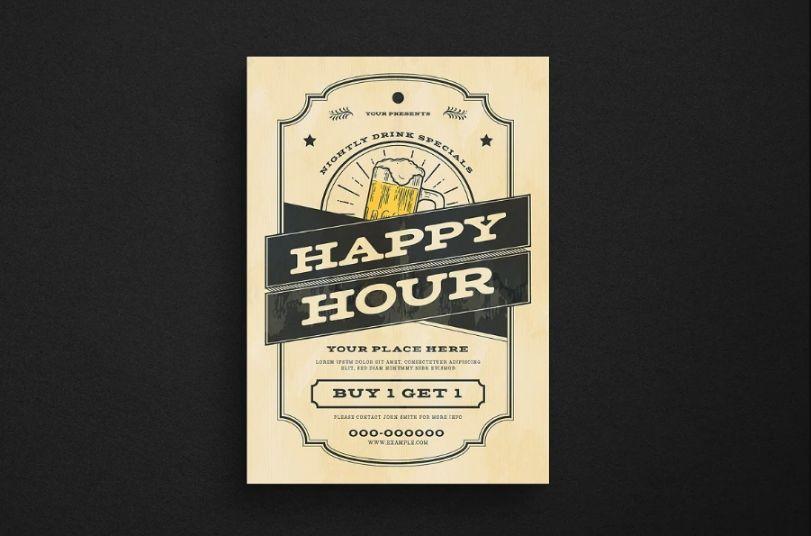 Printable Restaurant Flyer Templates