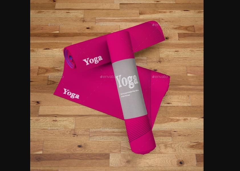 Printed Yoga Mat Mockups