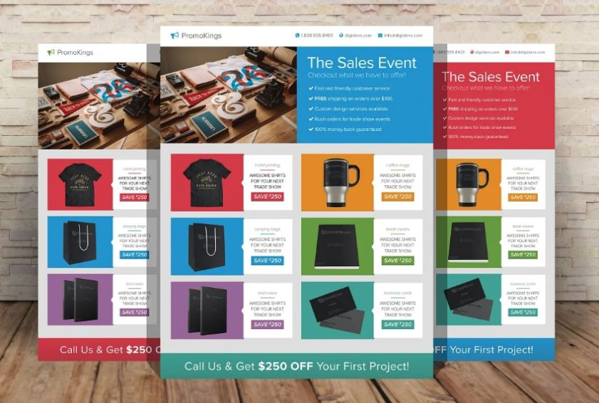 Products Promotional Flyer