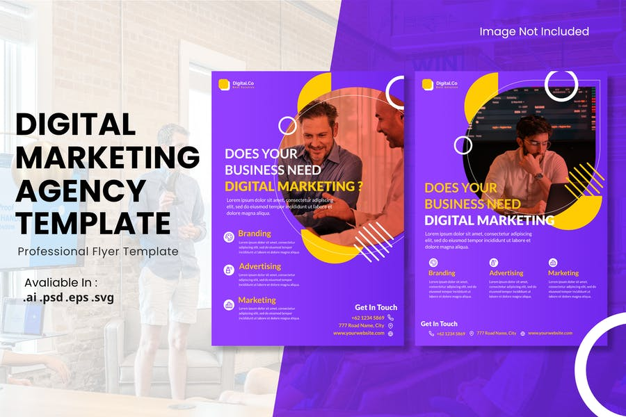 Professional Advertising Flyer Template