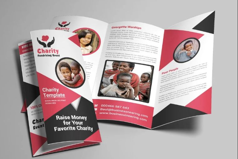 Professional Charity Brochure Templates