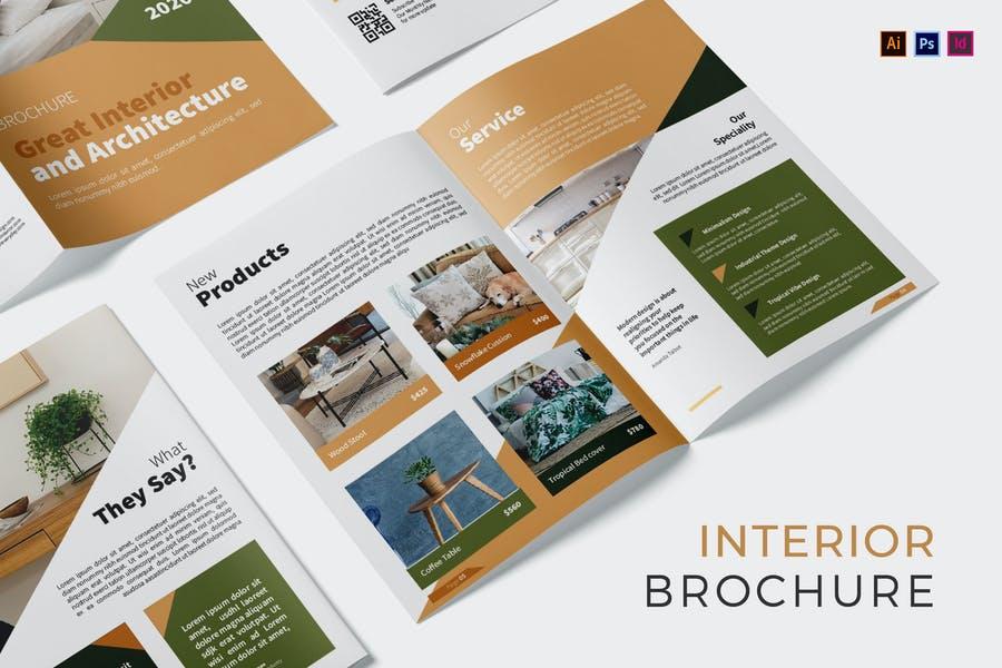 Professional InDesign Brochure Templates