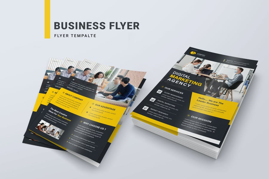 Professional Marketing Agency Flyer