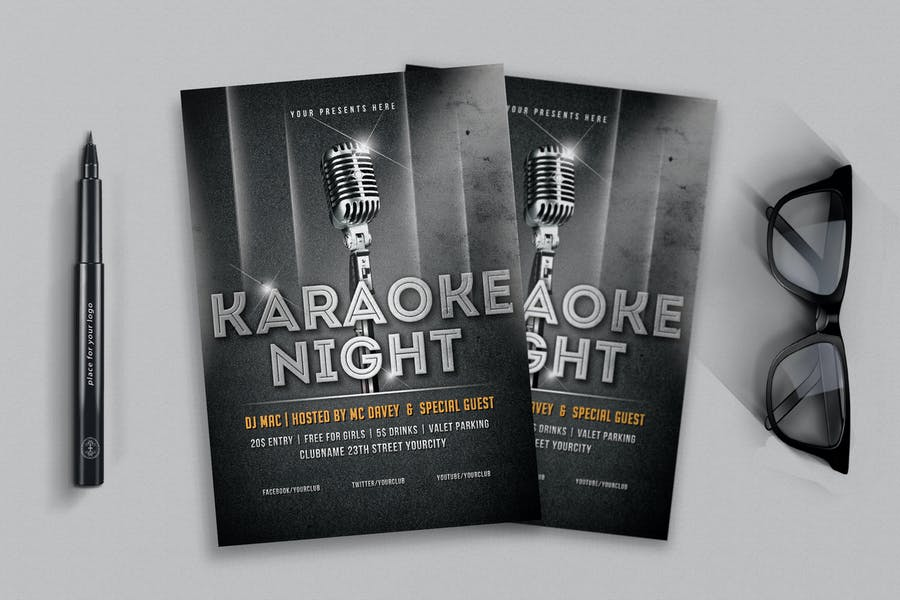 Professional Party Night Flyers