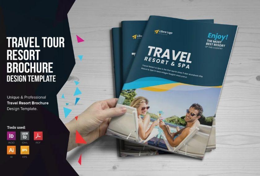 Professional Spa Brochure Templates