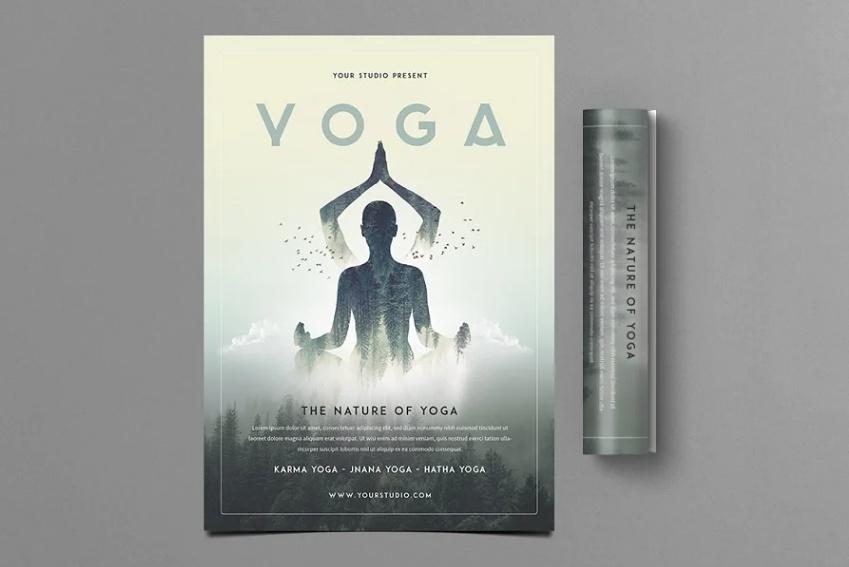 Professional Yoga Flyer Design