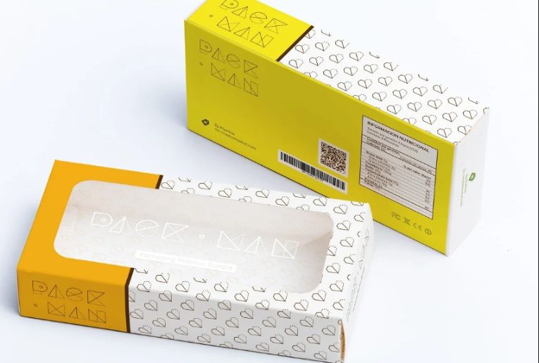 Rectangular Sweet Box Mockup