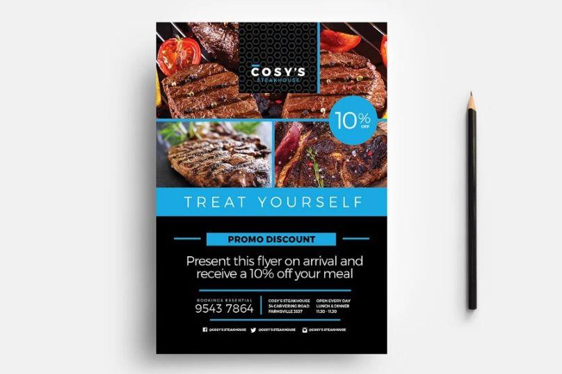 Restaurant Branding Flyer Templates