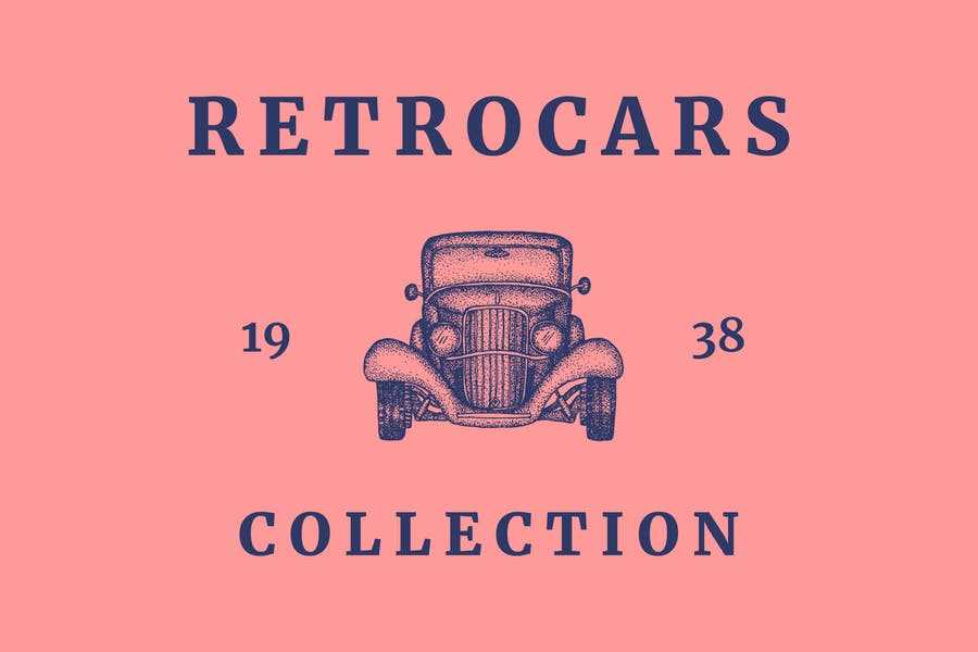 Retro Car Logo Collections
