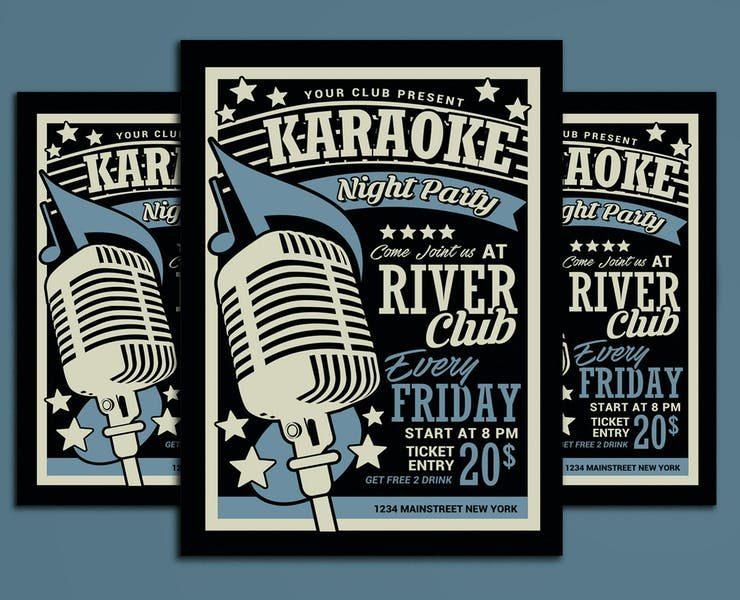 21+ Free Karaoke Flyer Template PSD Downloads
