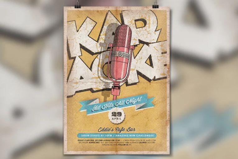 Retro Music Night Flyer