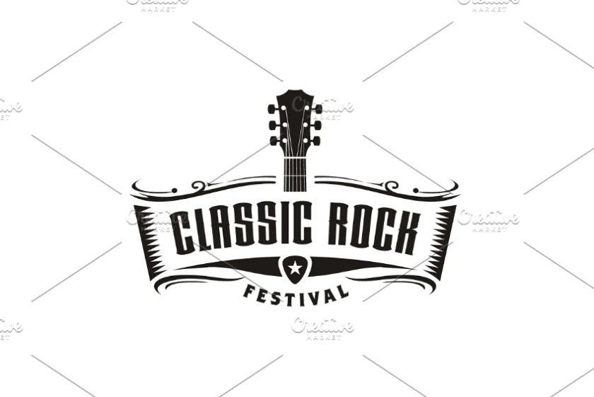 Rock Music Logo Design