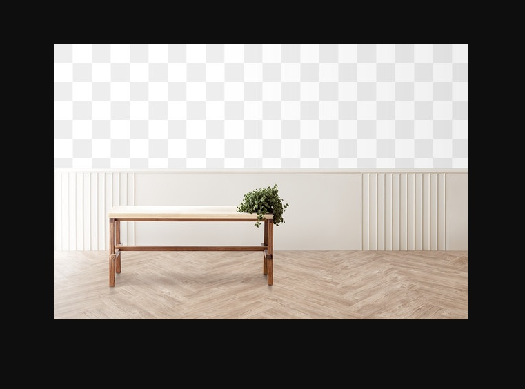 Room With Table Mockup