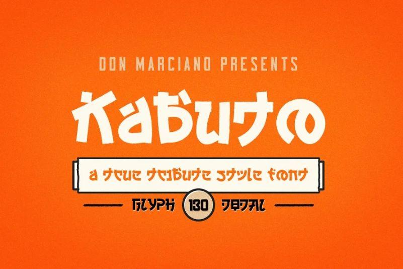 Rough Japanese Magna Fonts