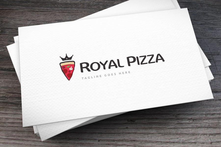 Royal Pizza Branding Design