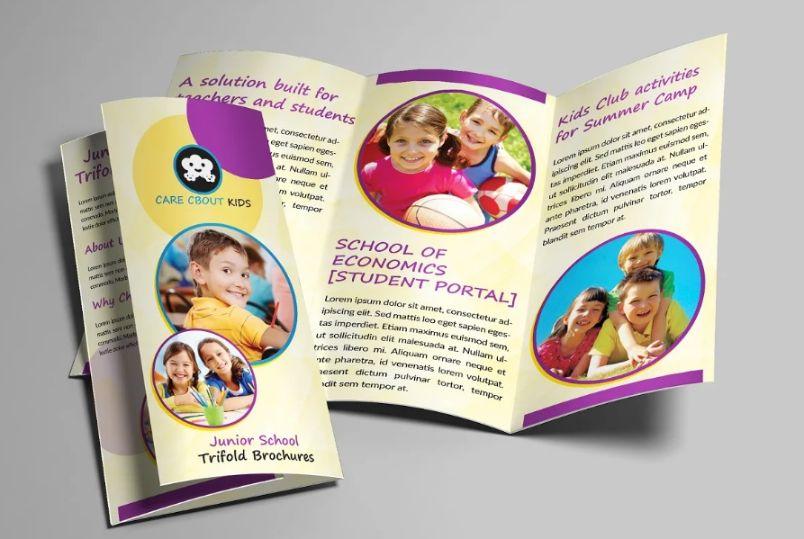 School Admission Brochure Templates