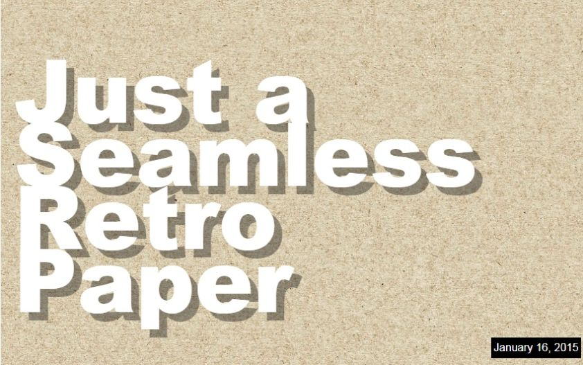 Seamless Retro Paper Textures
