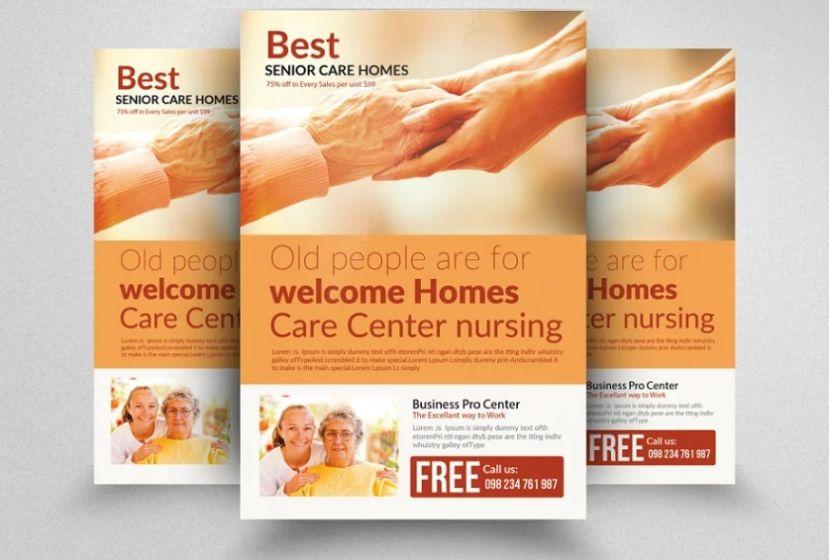 Senior Homes Flyer Template