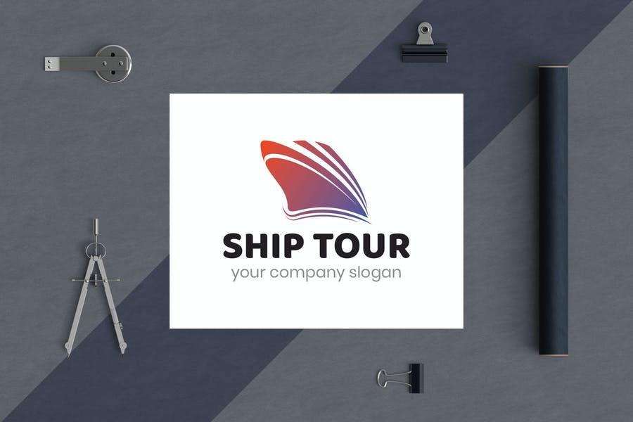 Ship Tour Identity Design
