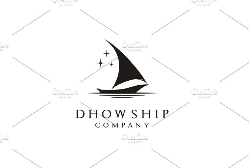 Shipping Company Logo Template