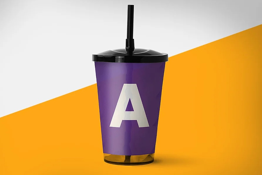 Simple Drinks Cup Mockups PSD