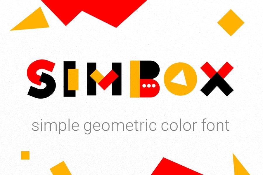 Simple Geometric Typefaces