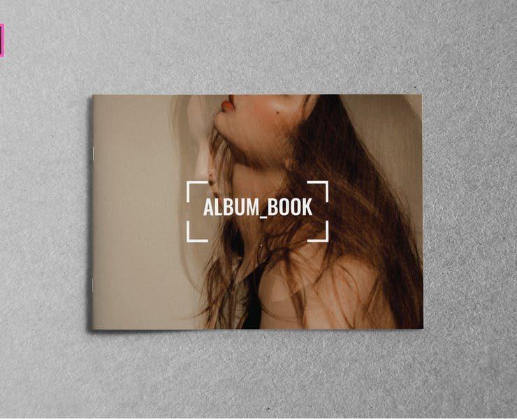 15+ Free Landscape Book Mockup PSD Downloads