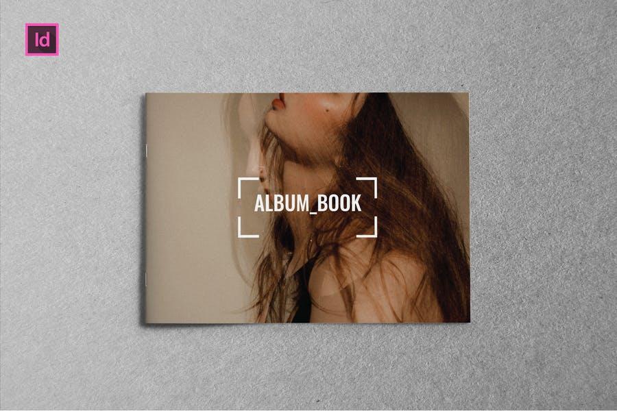 Simple Landscape Book Mockups