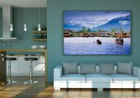 Living Room Mockup PSD