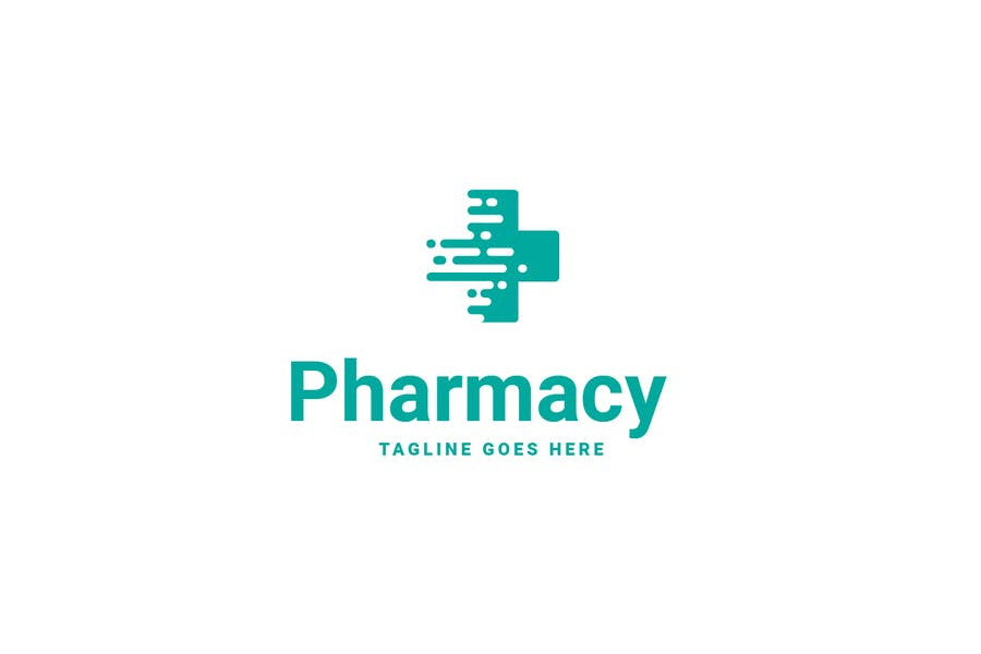 Simple Medicine Store Logo